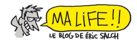 Eric Salch, Ma life, le blog qui tache