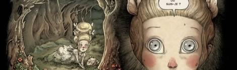 La petite fille dans la forêt