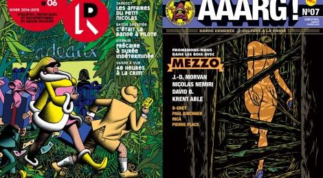 Esprit de résistance avec AAARG! et La Revue dessinée