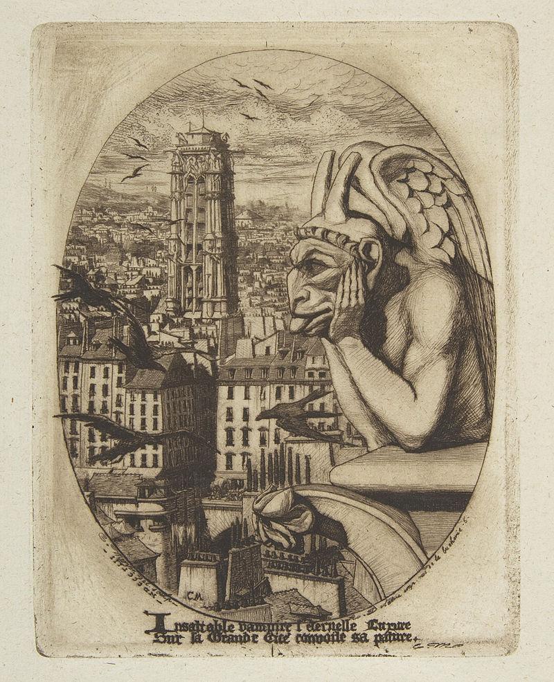 Charles_Meryon,le stryge,_1853
