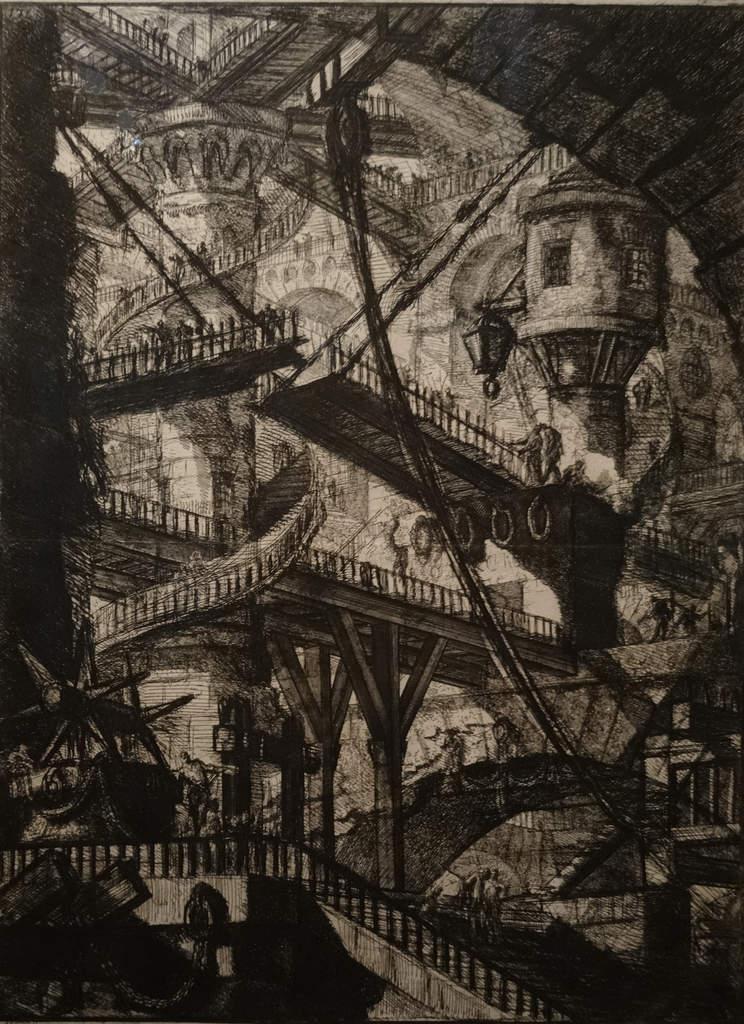 Piranese, Les prison1749