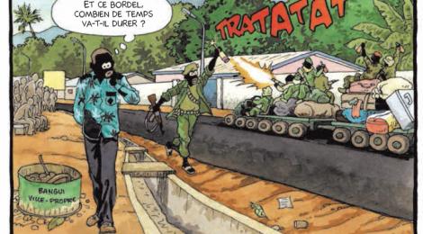 Bangui la Roquetteavec Didier Kassai